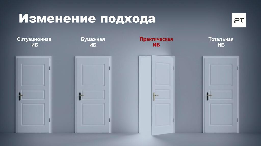 Ситуационная ИБ Бумажная ИБ Тотальная ИБ Измене...