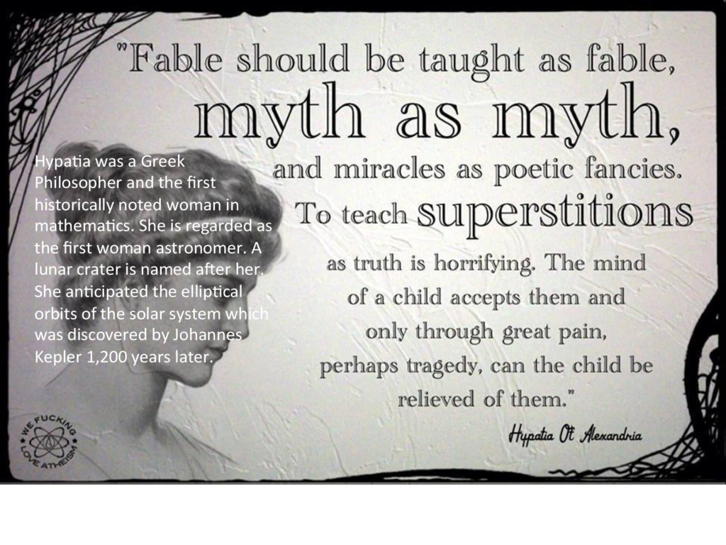 HypaKa was a Greek Philosopher and the first his...