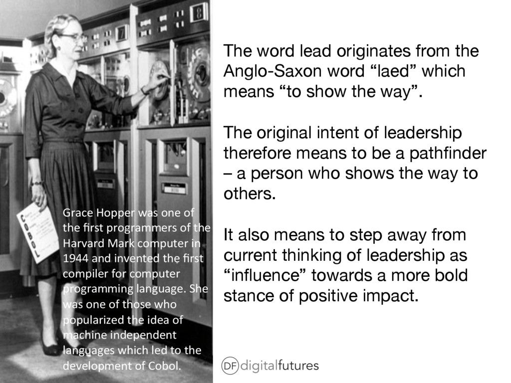 The word lead originates from the Anglo-Saxon w...