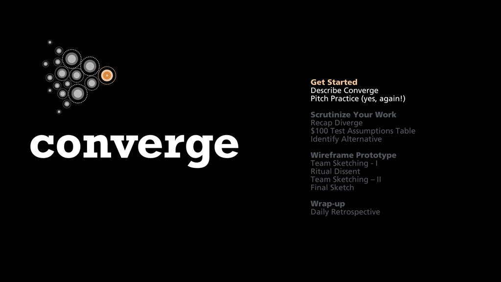 converge Get Started Describe Converge Pitch Pr...