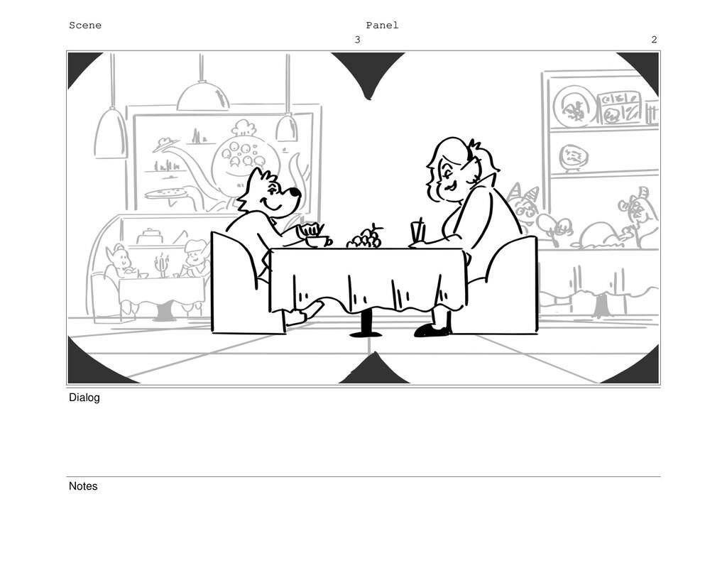 Scene 3 Panel 2 Dialog Notes