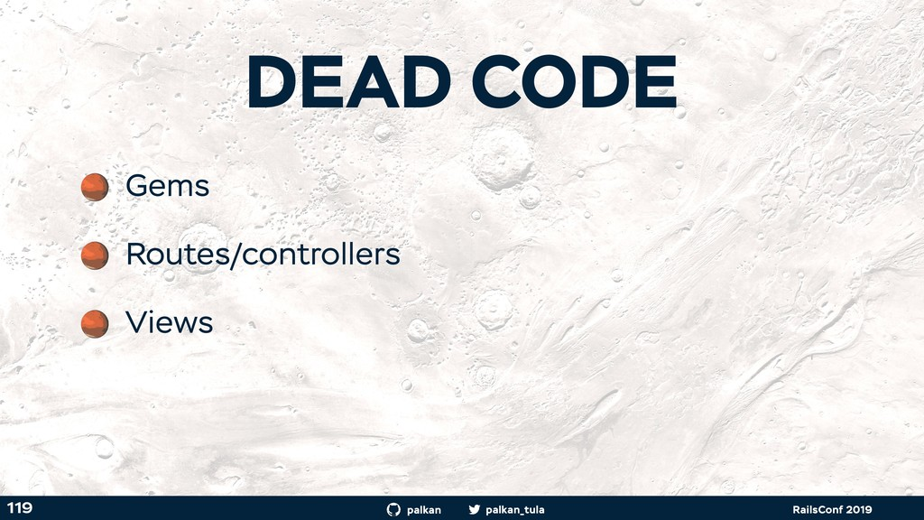 palkan_tula palkan RailsConf 2019 119 Gems Rout...