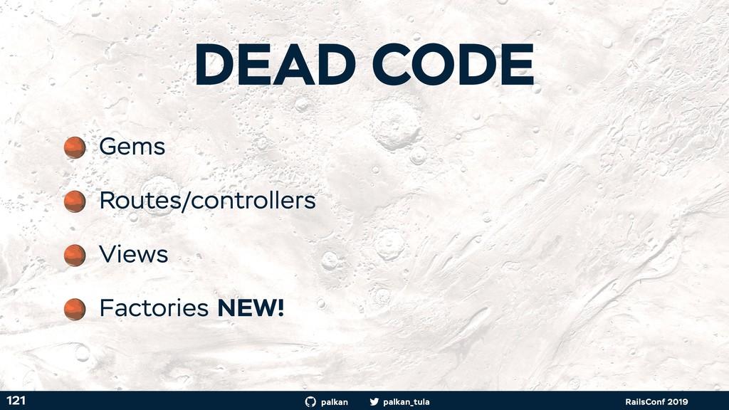 palkan_tula palkan RailsConf 2019 121 Gems Rout...