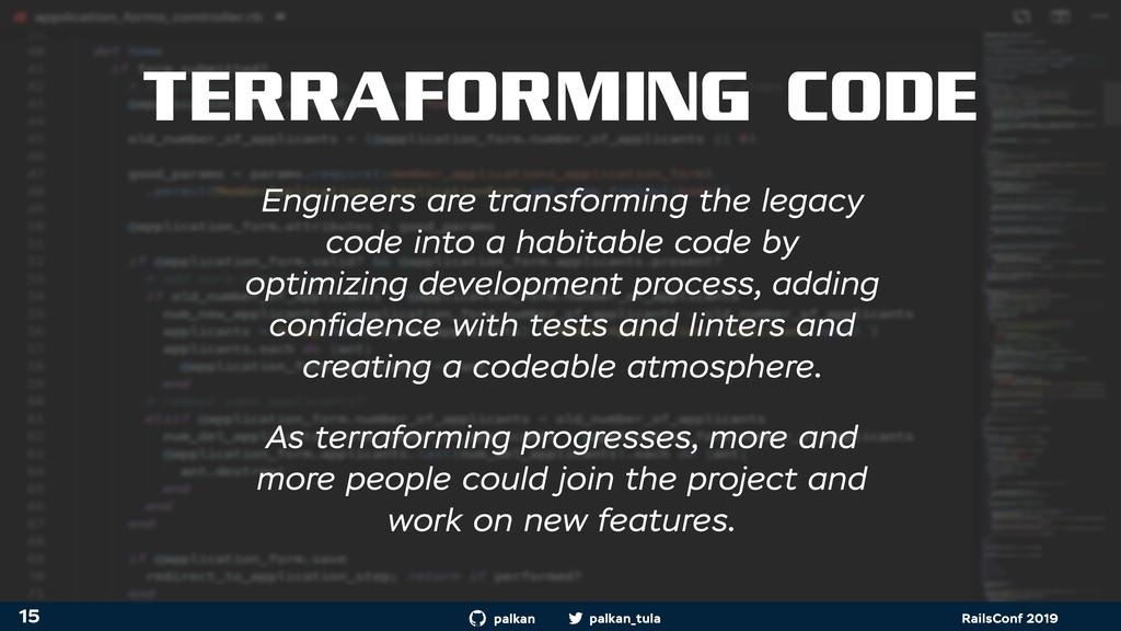 palkan_tula palkan RailsConf 2019 TERRAFORMING ...