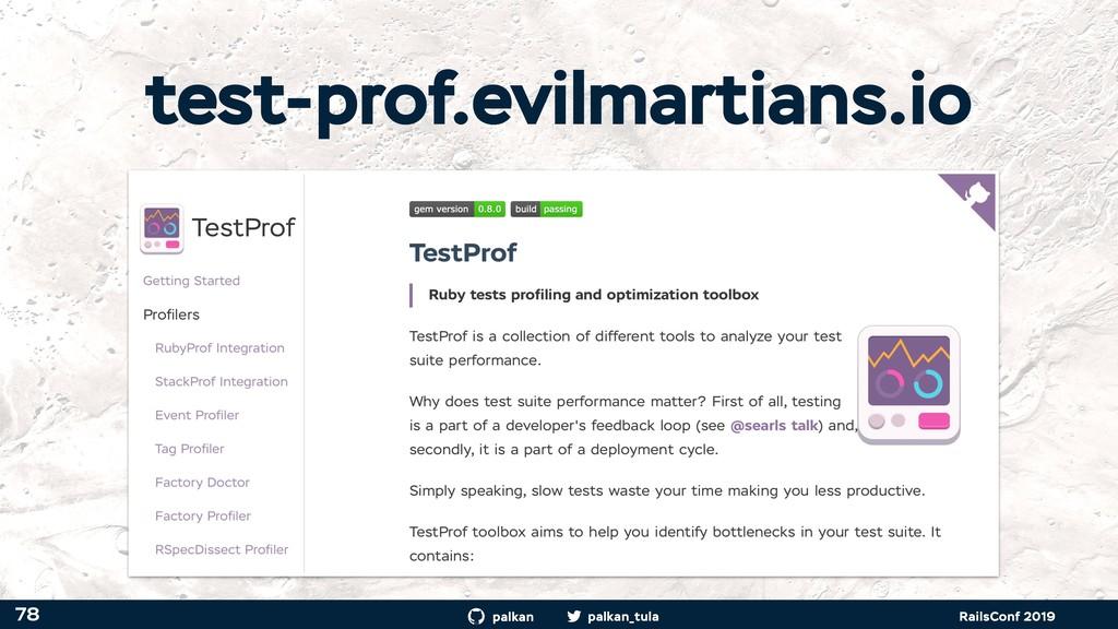 palkan_tula palkan RailsConf 2019 test-prof.evi...