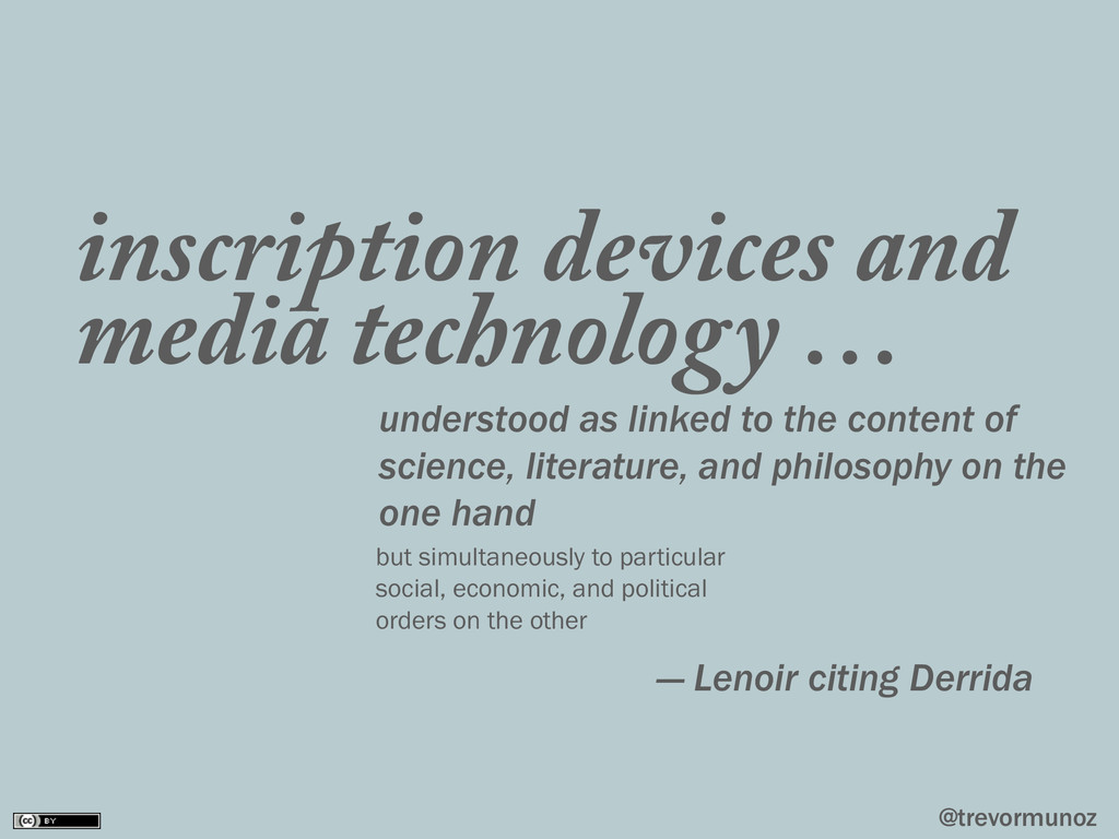 @trevormunoz inscription devices and media tech...