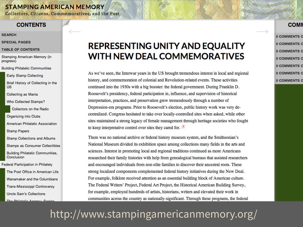 http://www.stampingamericanmemory.org/