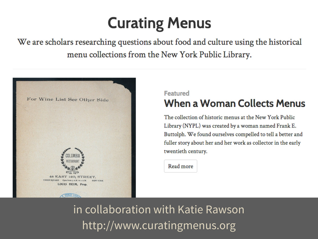 http://www.curatingmenus.org in collaboration w...