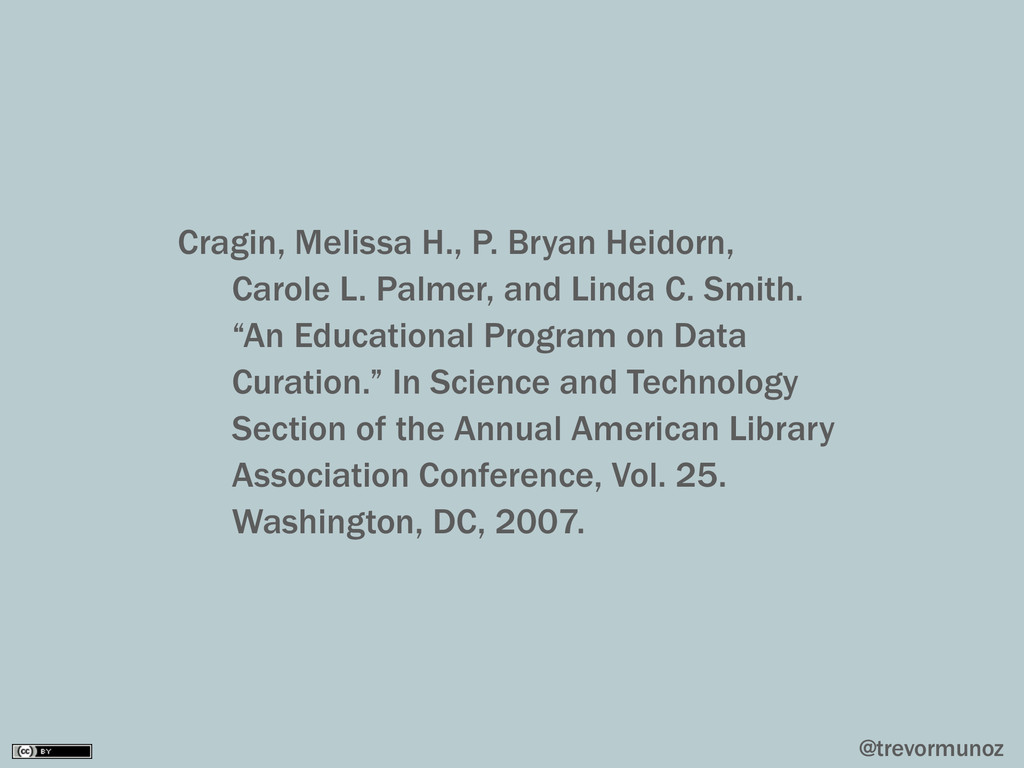@trevormunoz Cragin, Melissa H., P. Bryan Heido...