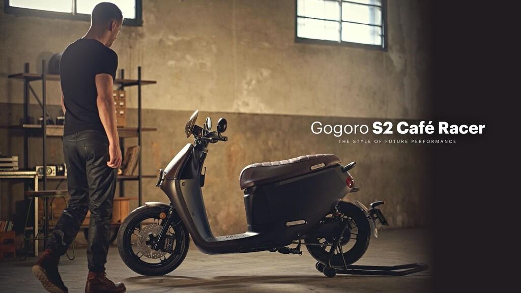 Con idential Gogoro S2 Café Racer T H E S T Y L...