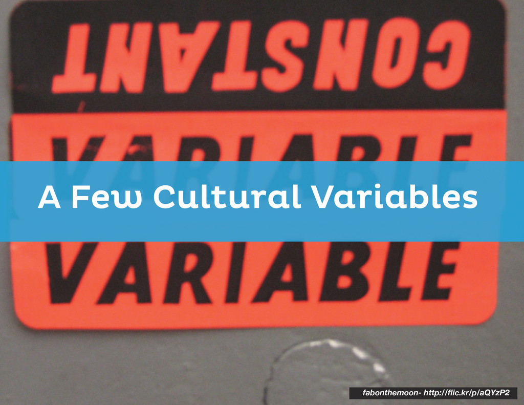 A Few Cultural Variables fabonthemoon- http://f...