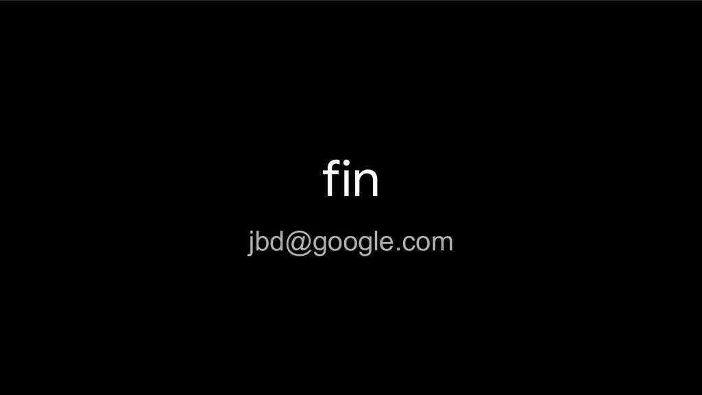fin jbd@google.com