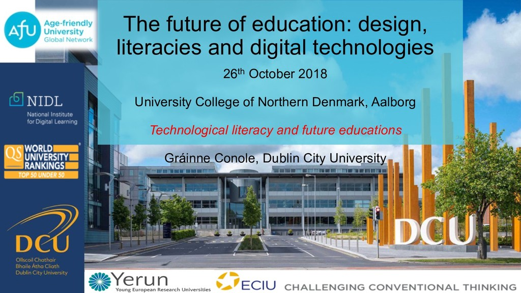 The future of education: design, literacies and...