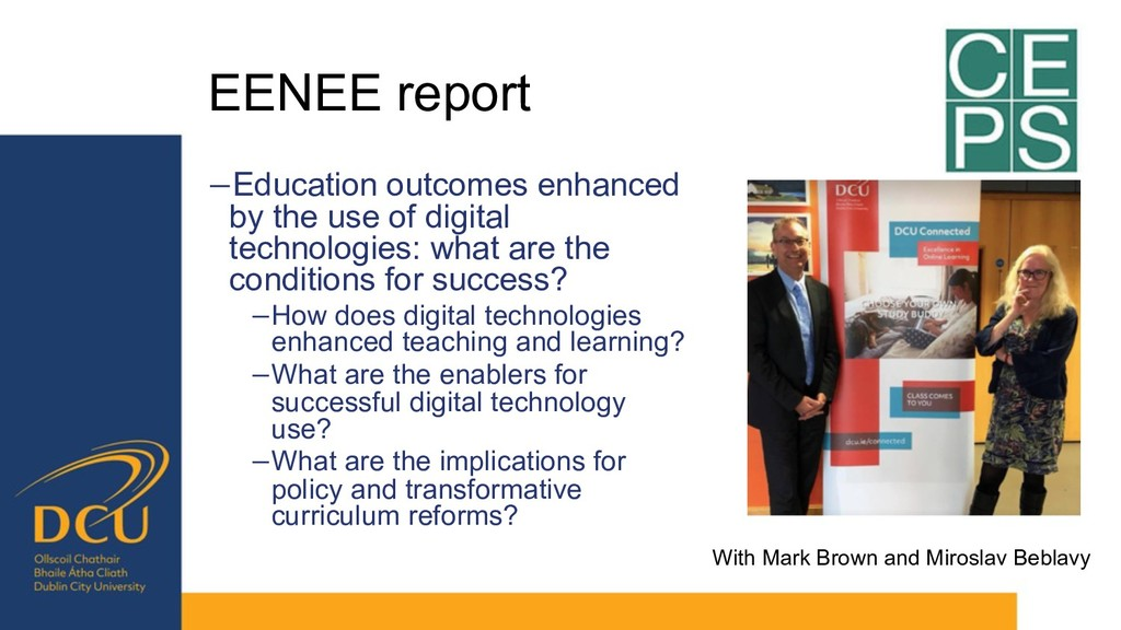 EENEE report −Education outcomes enhanced by th...