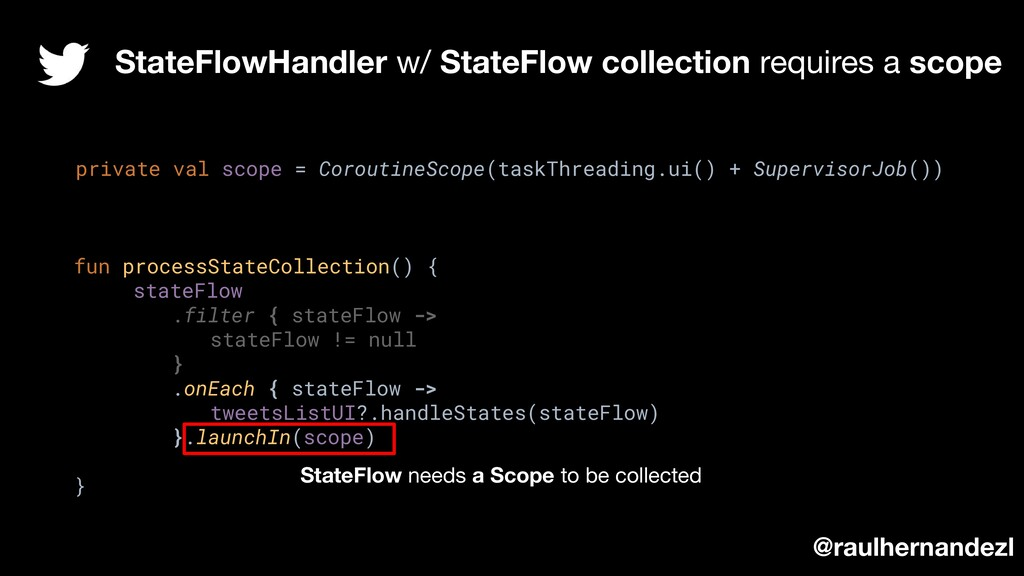 StateFlowHandler w/ StateFlow collection requir...