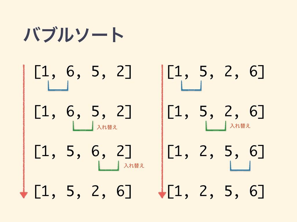 όϒϧιʔτ [1, 6, 5, 2] [1, 6, 5, 2] [1, 5, 6, 2] [...