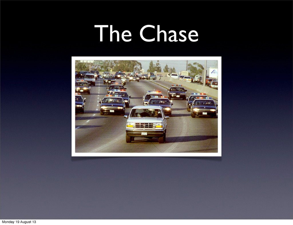 The Chase Monday 19 August 13