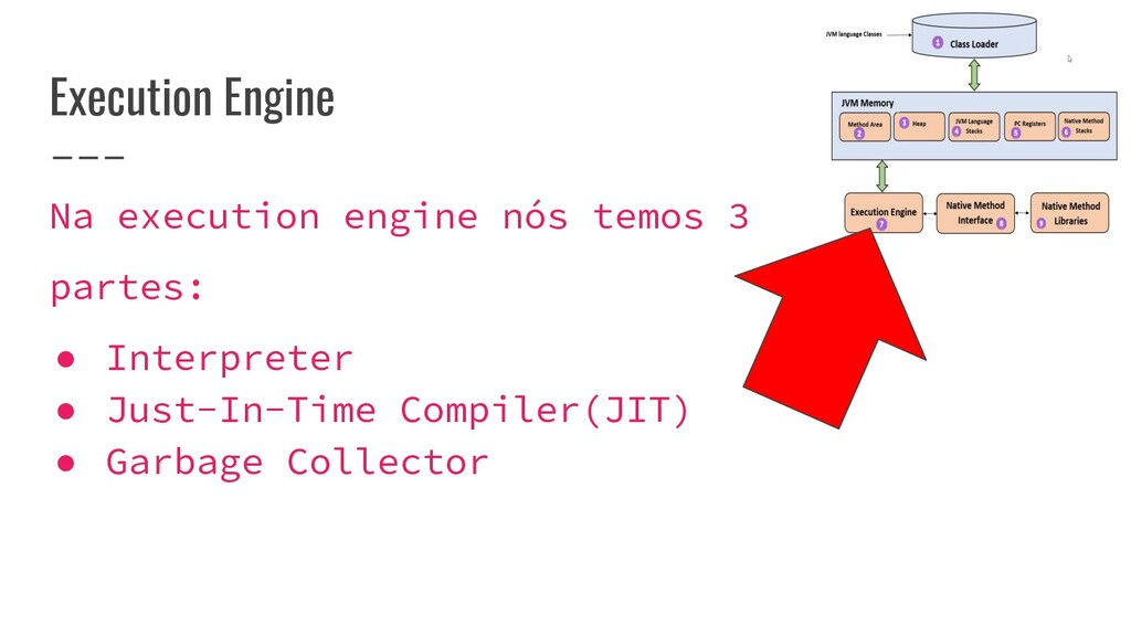 Execution Engine Na execution engine nós temos ...