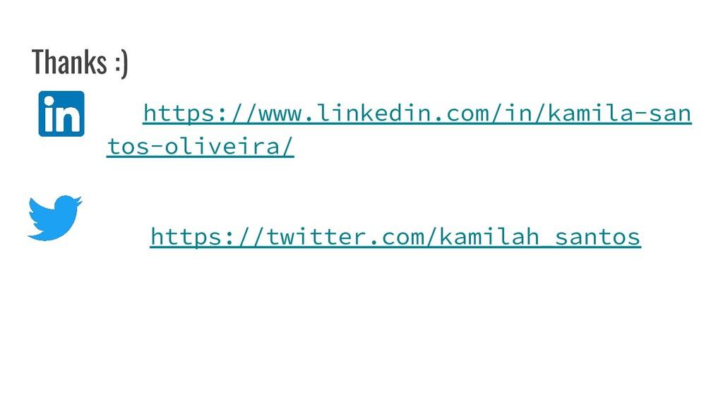 Thanks :) https://www.linkedin.com/in/kamila-sa...