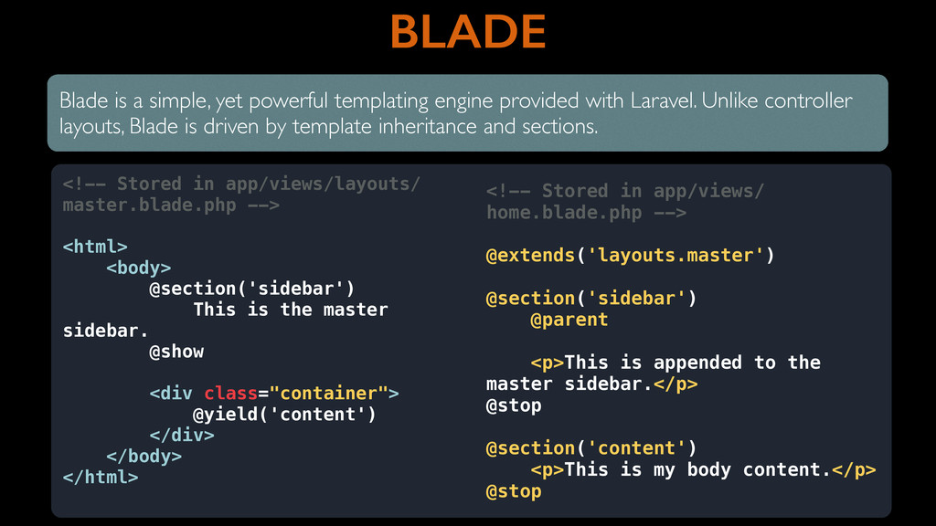 BLADE Blade is a simple, yet powerful templatin...