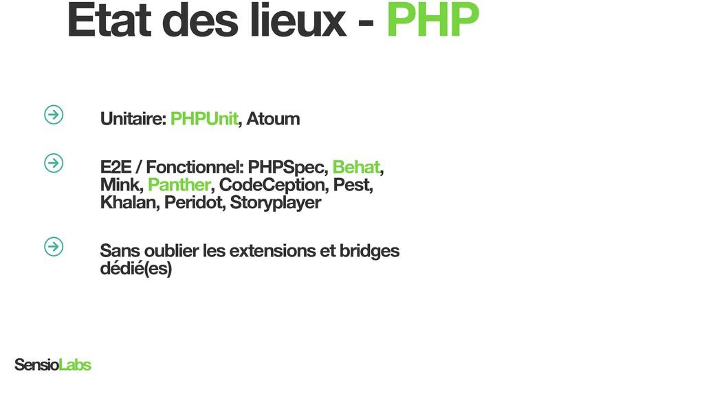 university.sensiolabs.com Unitaire: PHPUnit, At...