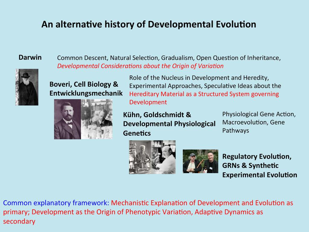 An alterna0ve history of Developmen...