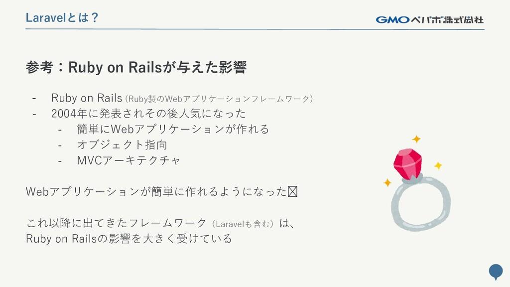 118 参考:Ruby on Railsが与えた影響 Laravelとは? - Ruby on...