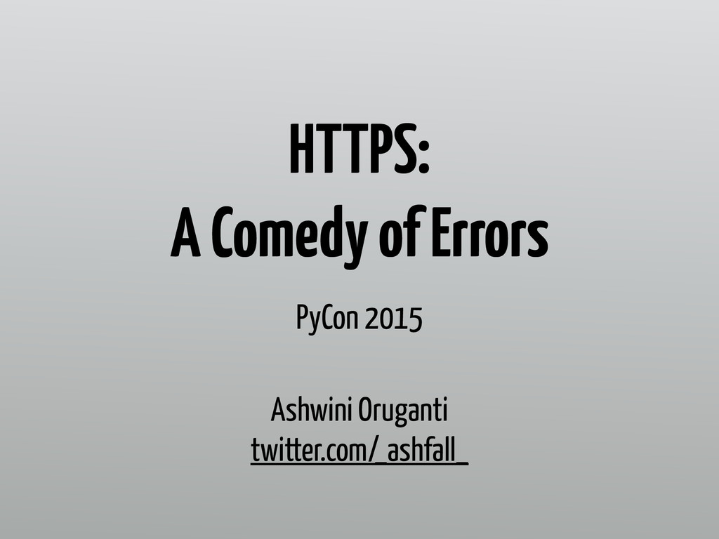 HTTPS: 