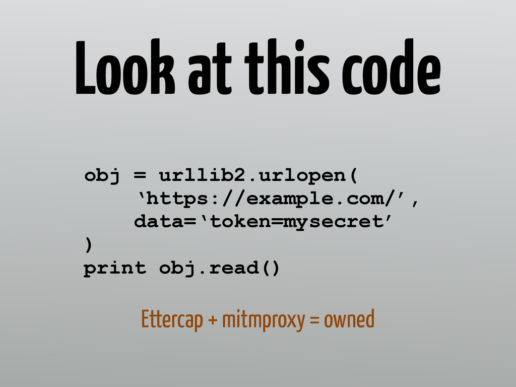 Look at this code obj = urllib2.urlopen(