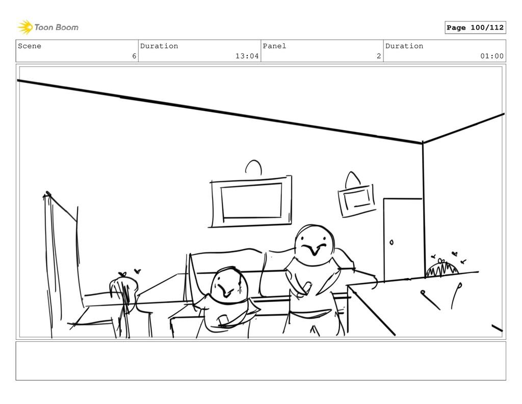 Scene 6 Duration 13:04 Panel 2 Duration 01:00 P...