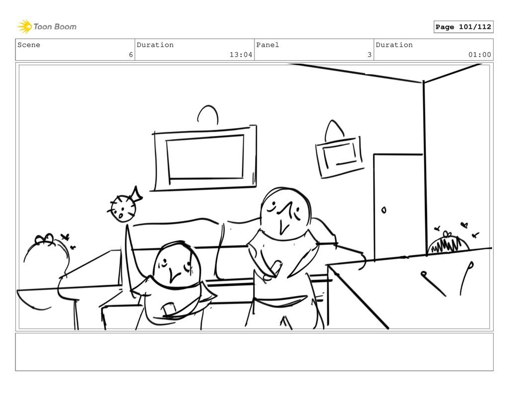 Scene 6 Duration 13:04 Panel 3 Duration 01:00 P...