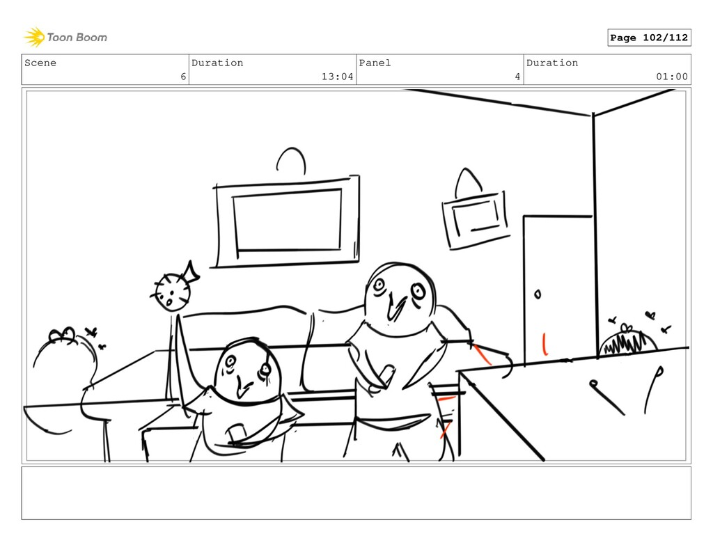 Scene 6 Duration 13:04 Panel 4 Duration 01:00 P...
