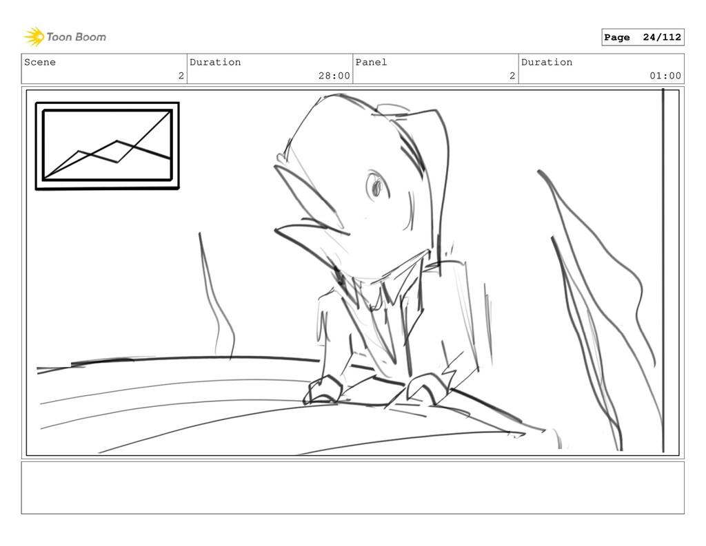 Scene 2 Duration 28:00 Panel 2 Duration 01:00 P...