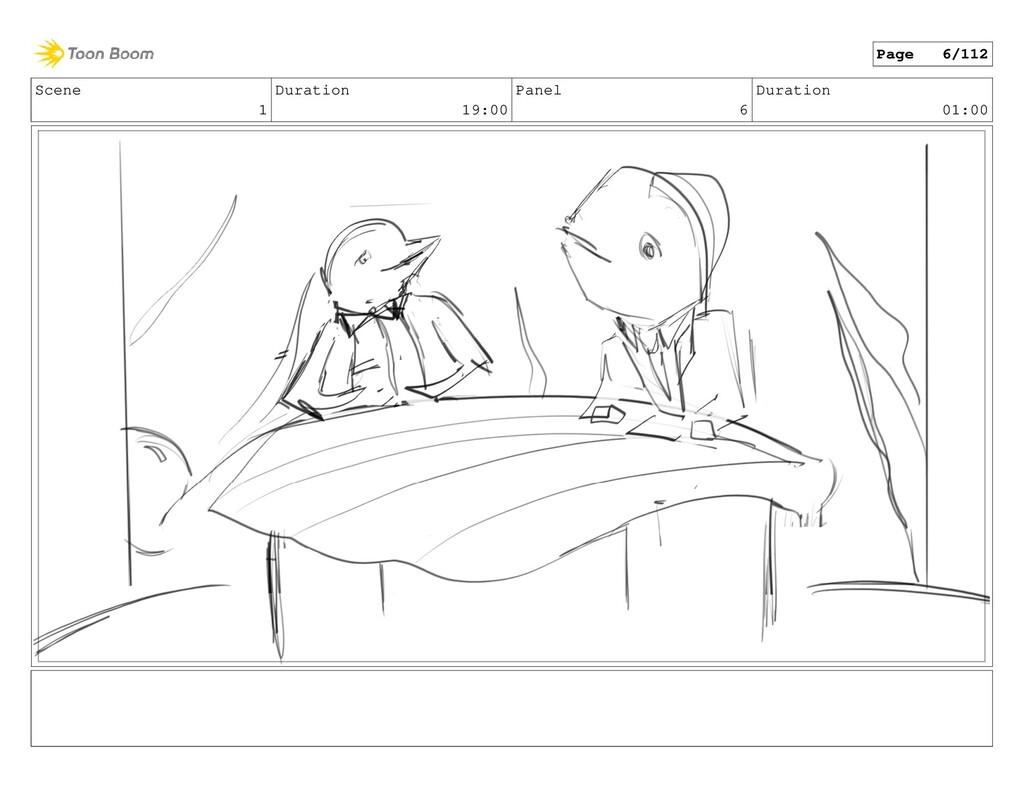 Scene 1 Duration 19:00 Panel 6 Duration 01:00 P...