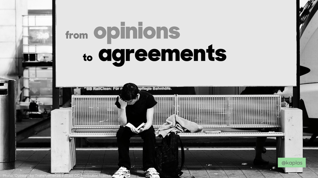 "Photo ""Opinion"" by Transformer18; Edited; CC At..."