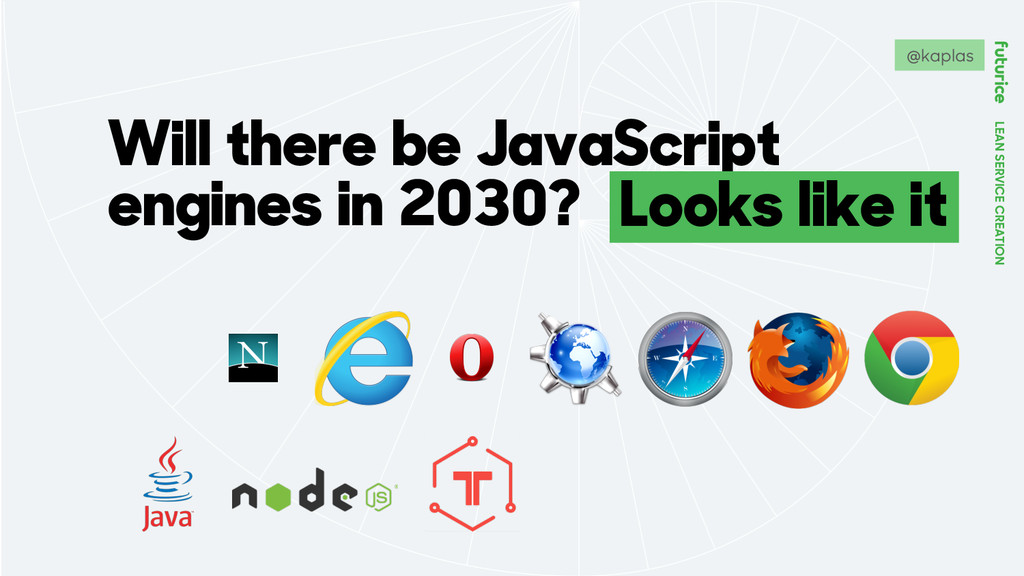 LEAN SERVICE CREATION Will there be JavaScript ...