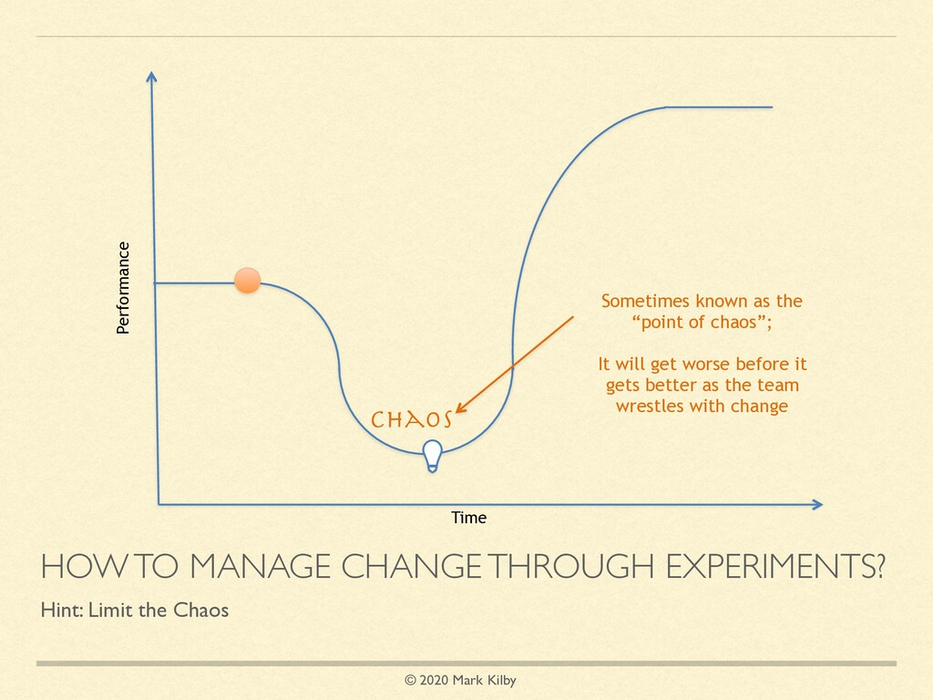 © 2020 Mark Kilby HOW TO MANAGE CHANGE THROUGH ...