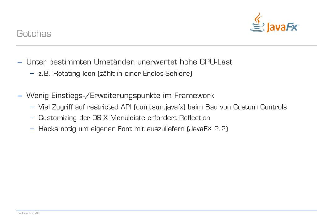 codecentric AG Gotchas − Unter bestimmten Umstä...