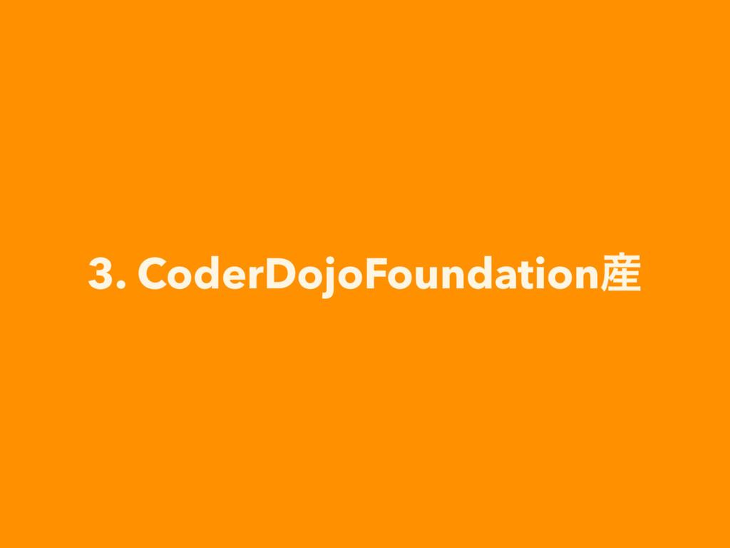 3. CoderDojoFoundation