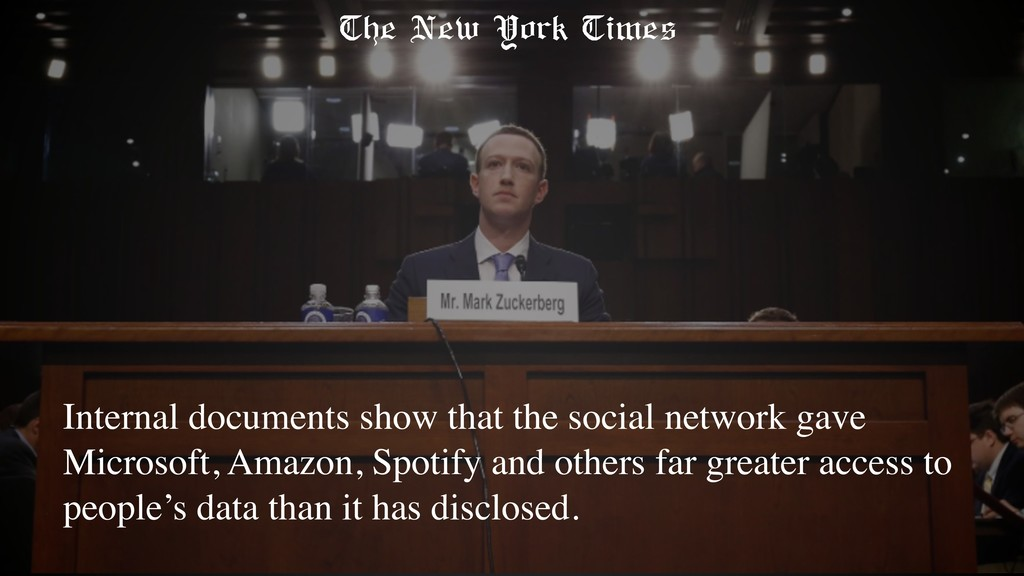 Internal documents show that the social network...