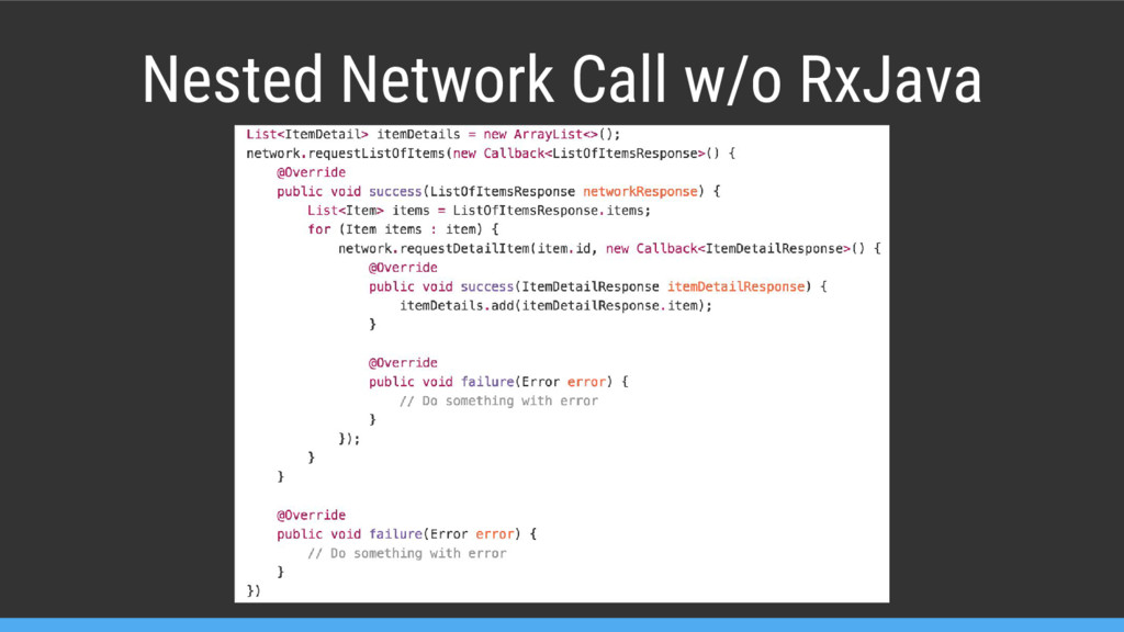 Nested Network Call w/o RxJava