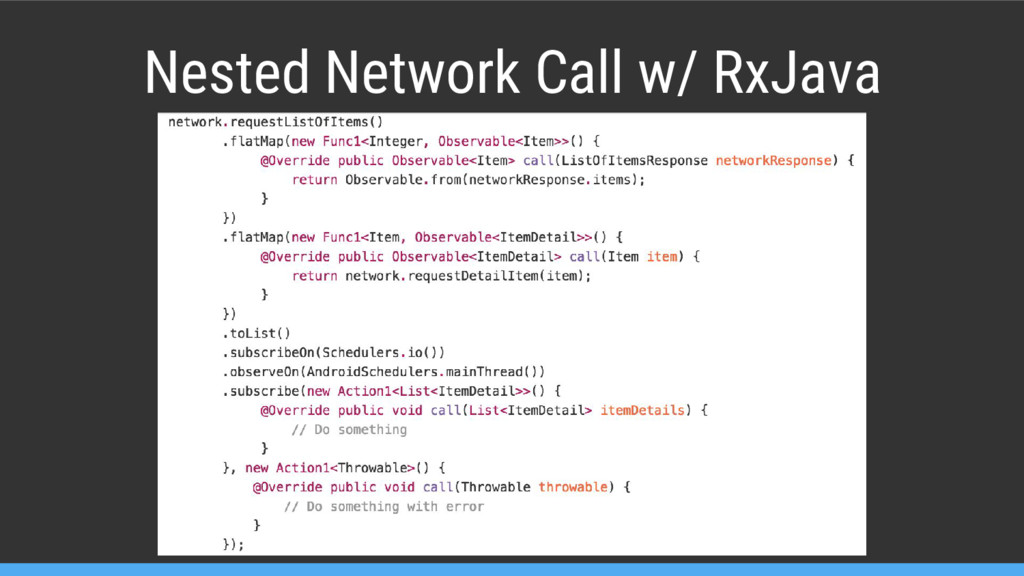 Nested Network Call w/ RxJava