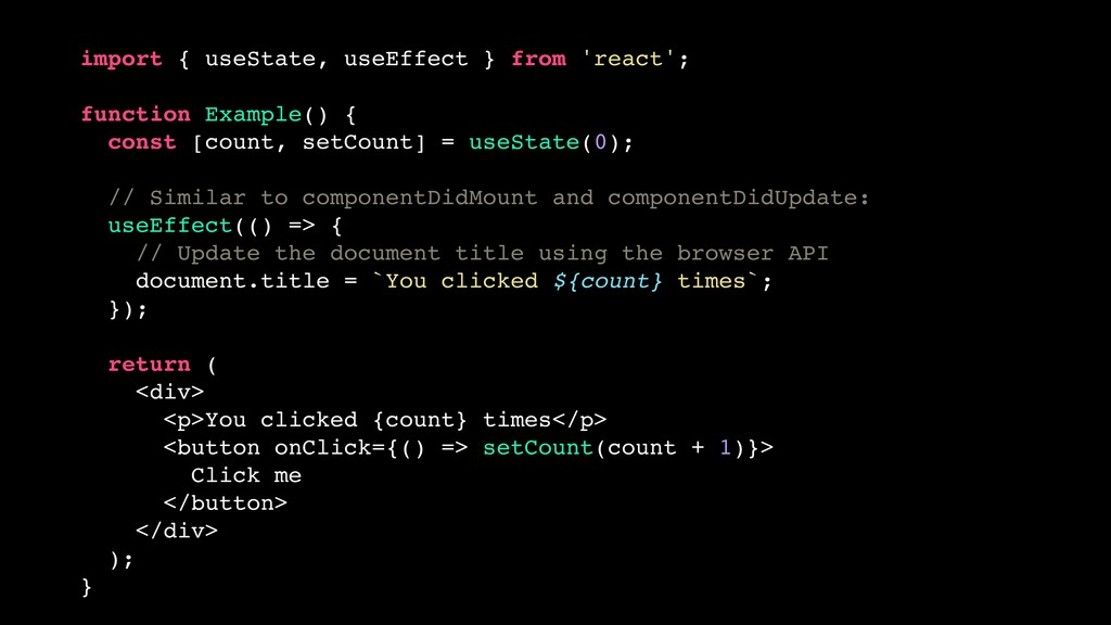 import { useState, useEffect } from 'react'; fu...