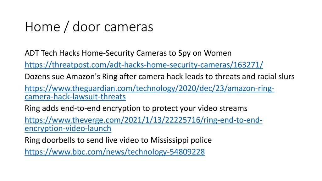 Home / door cameras ADT Tech Hacks Home-Securit...