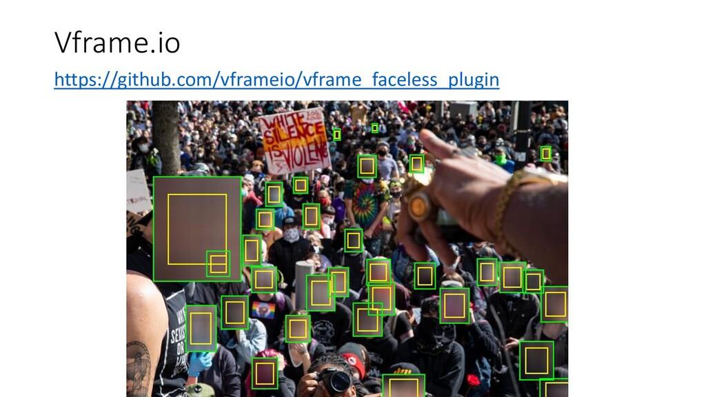 Vframe.io https://github.com/vframeio/vframe_fa...
