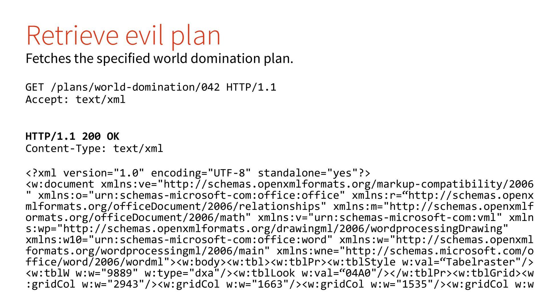World Domination API