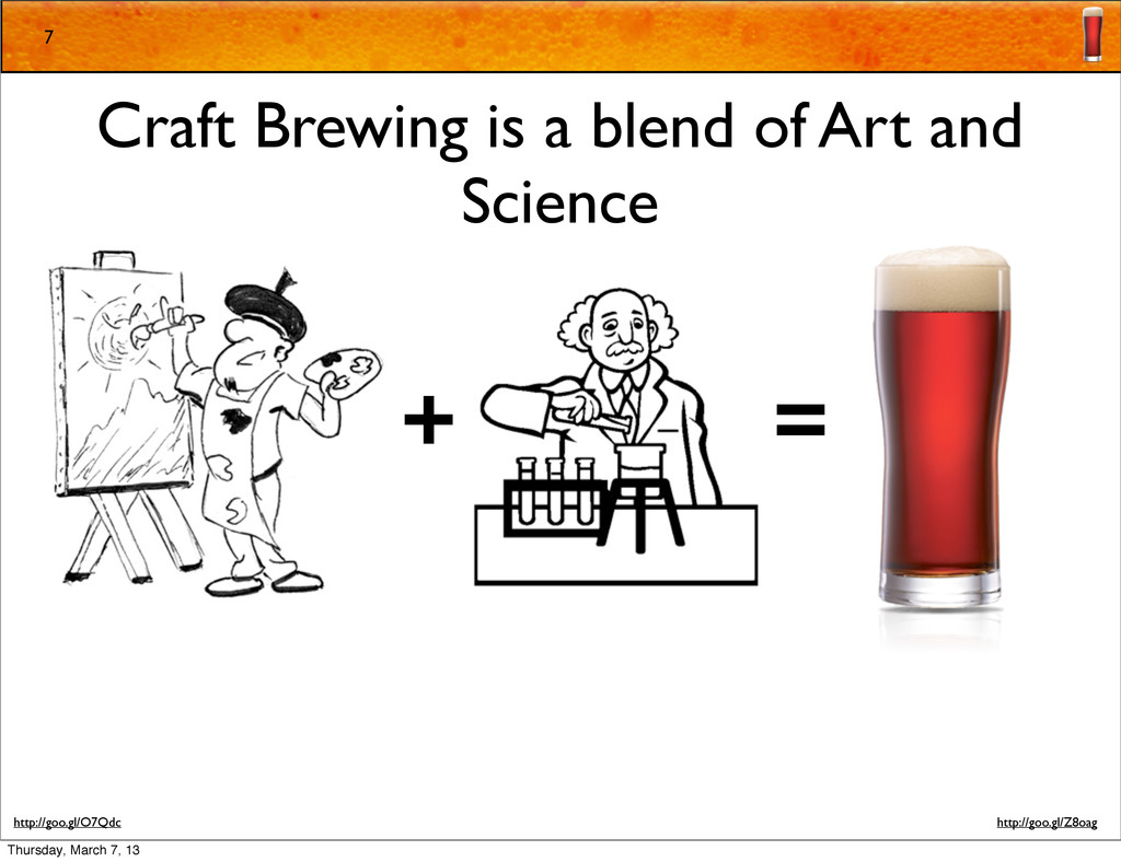 7 Craft Brewing is a blend of Art and Science +...