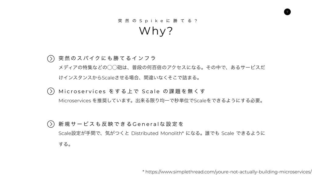 Why? ಥ વ ͷ S p i k e ʹ উ ͯ Δ ? ϝσΟΞͷಛूͳͲͷ̋̋๒ɺී...