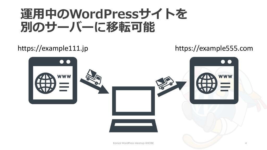 運用中のWordPressサイトを 別のサーバーに移転可能 Kansai WordPress ...