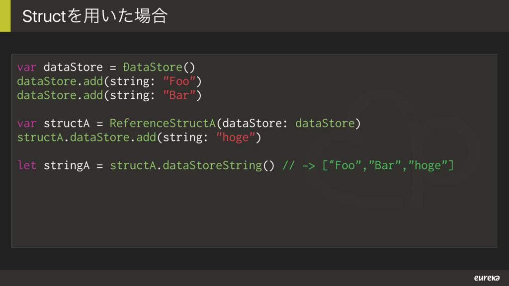 var dataStore = DataStore() dataStore.add(strin...